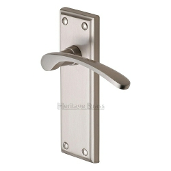 Heritage Brass Handles on Backplate