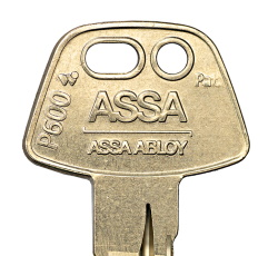 Keys for Assa P600