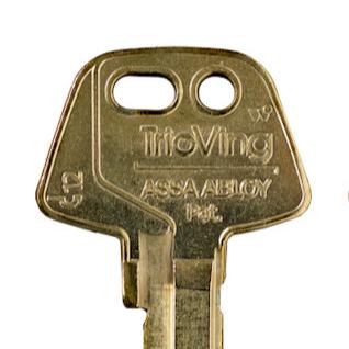 Keys for Assa TrioVing