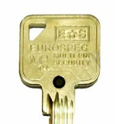 Keys for MP10 Locks with BG Prefix