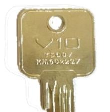 Keys for Vier V10 with MK1 Prefix