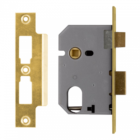 Union L2241 - Oval Profile Mortice Sash Lock