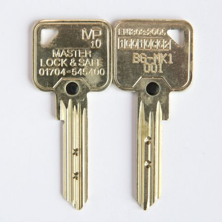 Additional Keys for MP10 Cylinders - When Ordering Locks