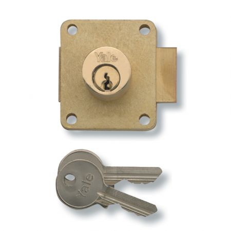YALE 076 Cylinder Straight Cupboard Lock