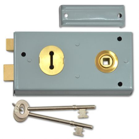 YALE 401 2 Lever Double Handed Rimlock