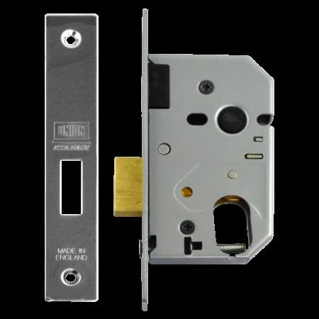 Union L2141 - Oval Profile Mortice Dead Lock