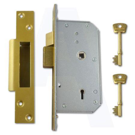 Union 3K70 Detainer Sash Lock Polished Brass Forend