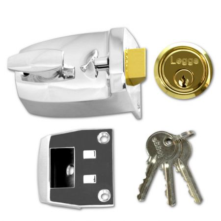 Legge 707 60mm Deadlocking Nightlatch