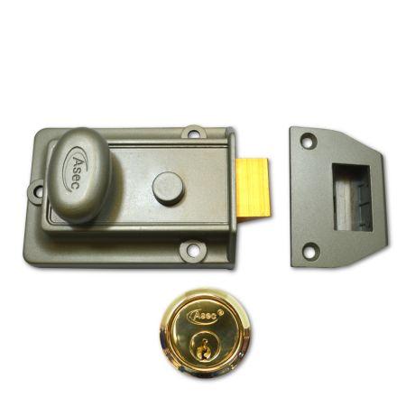 ASEC 60mm Traditional Non-Deadlocking Nightlatch