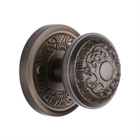 Heritage Brass Aydon Mortice Knob AYD1324 Matt Bronze