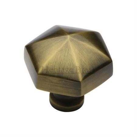 Heritage Brass Cabinet Knob C2238 Antique Brass