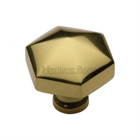 Heritage Brass Cabinet Knob C2238 Polished Brass