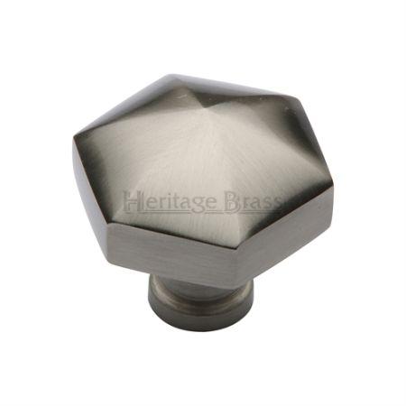 Heritage Brass Cabinet Knob C2238 Satin Nickel