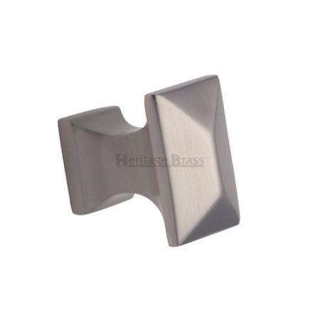 Heritage Brass Pyramid Cabinet Knob C2232 Satin Nickel