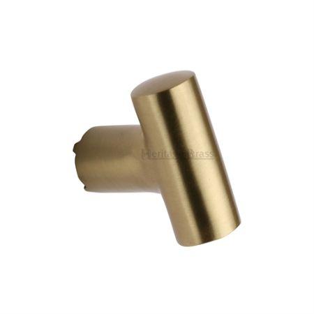 Heritage Brass T-Shaped Cabinet Knob C2234 Satin Brass