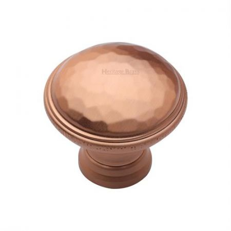 Heritage Brass Cabinet Knob C4545 Satin Rose Gold