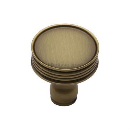 Heritage Brass Venetian Cabinet Knob C4547 Antique Brass