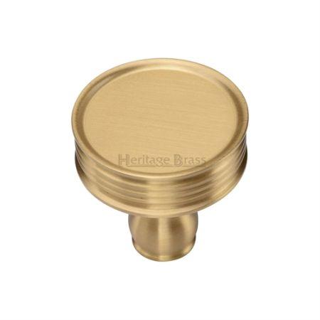 Heritage Brass Venetian Cabinet Knob C4547 Satin Brass