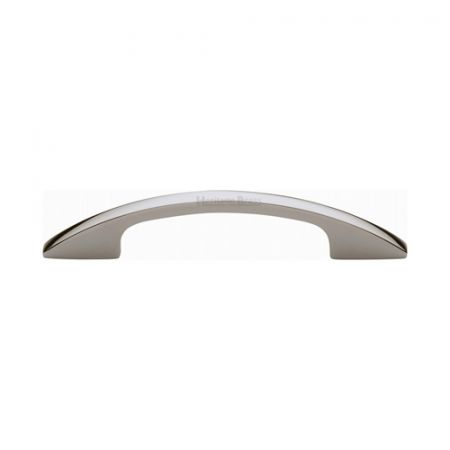 Heritage Brass Cabinet Pull C7854 Polished Nickel