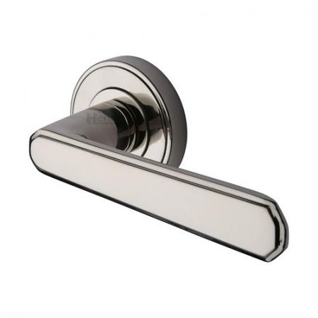 Heritage Brass CEN1924 Century Handle on Rose Polished Nickel