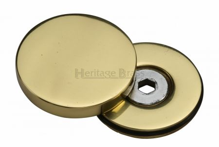 Heritage Brass Decorative Bolt Cover COV-12