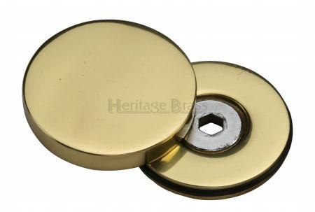 Heritage Brass Decorative Bolt Cover COV-12