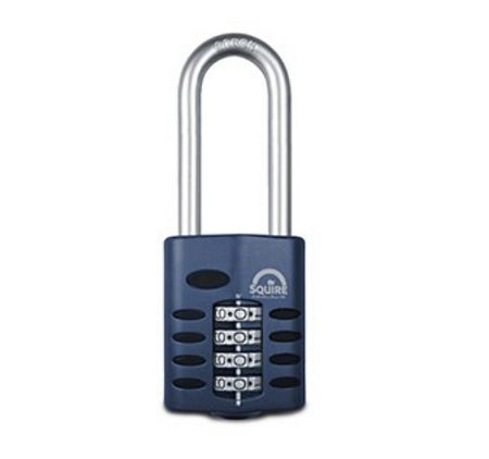 Squire CP50 2.5 Long Shackle Combination Padlock