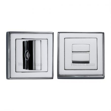 Heritage Brass Square Bathroom Thumbturn and Release DEC7030