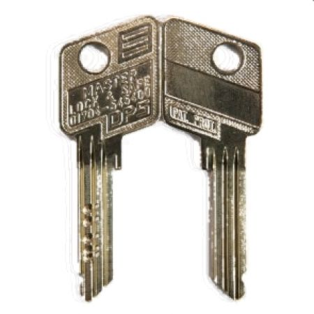 Evva 6 Pin DPS Cylinder Key - 72D Series