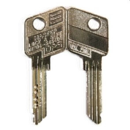 Evva 6 Pin DPS Cylinder Key - 079D Series