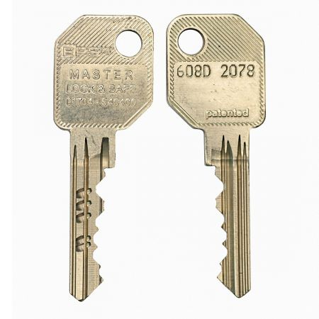 Evva EPS 6 Pin Cylinder Key - 608D Series
