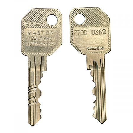 Evva EPS 6 Pin Cylinder Key - 770D Series