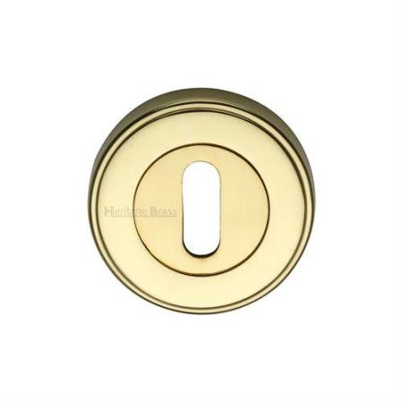 Heritage Brass 53mm Standard Keyhole Escutcheon ERD7000