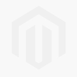 Fulton and Bray FB301 Clear Facetted Glass Mortice Knob on Polished Chrome Rose