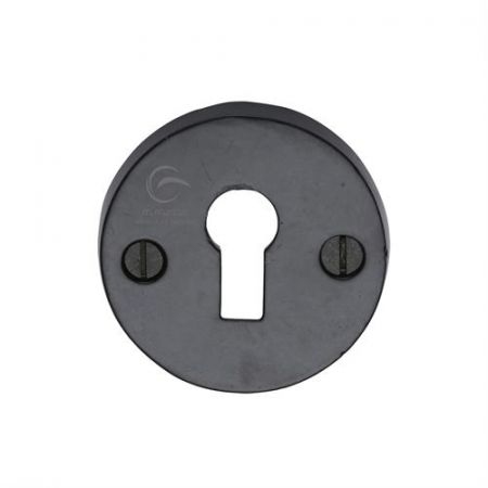 M Marcus Smooth Black Standard Key Escutcheon FB553