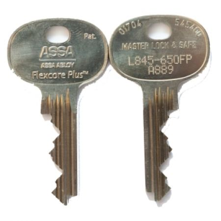 Assa Flexcore/Flexcore Plus 5 Pin Cylinder Key