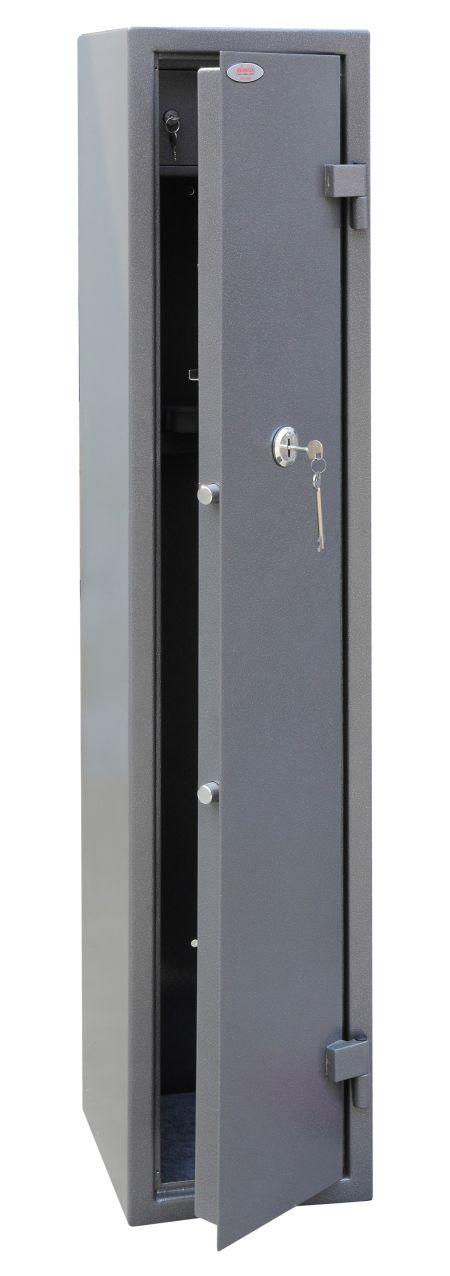 Phoenix Tucana GS8015K 3 Gun Safe with Internal Ammo Box and Key Lock