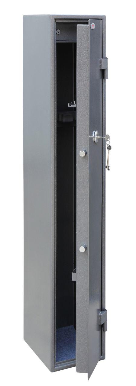 Phoenix Tucana GS8016K 5 Gun Safe with Internal Ammo Box and Key Lock