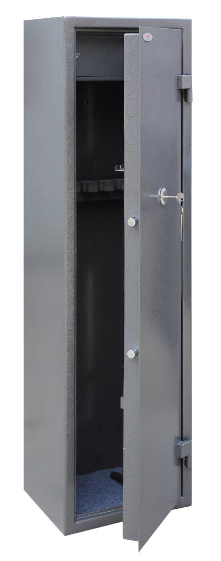 Phoenix Tucana GS8017K 7 Gun Safe with Internal Ammo Box and Key Lock