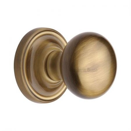 Heritage Brass Hampstead Mortice Knob HAM8361 Antique Brass
