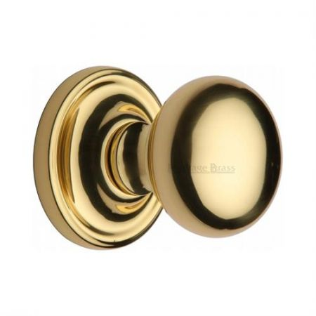 Heritage Brass Hampstead Mortice Knob HAM8361 Polished Brass