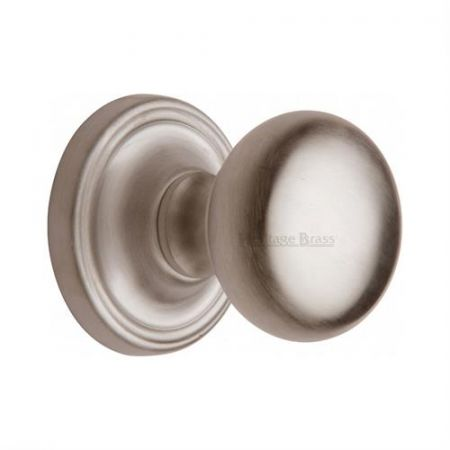 Heritage Brass Hampstead Mortice Knob HAM8361 Satin Nickel