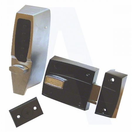 KABA 7100 Series 7106 Digital Lock Rim Deadlatch