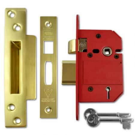 UNION J2200 Strongbolt BS 5 Lever Sashlock