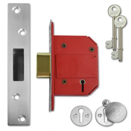 UNION J2100S StrongBOLT BS 5 Lever Deadlock