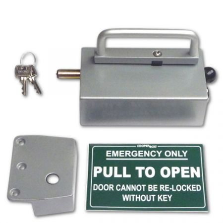 COOPERBOLT Non-Alarmed Door Bolt 102 Series