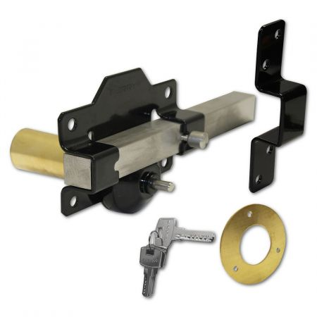 A PERRY 70mm Single Locking Long Throw Gate Lock