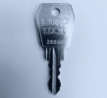 Key for Van Vault Roof Tube