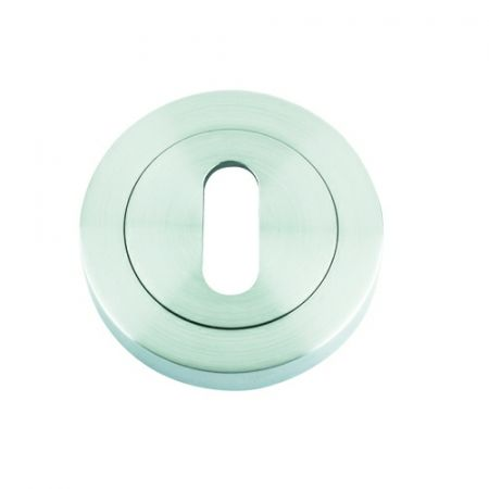 Rosso Maniglie Round Standard Keyhole Escutcheon RM002