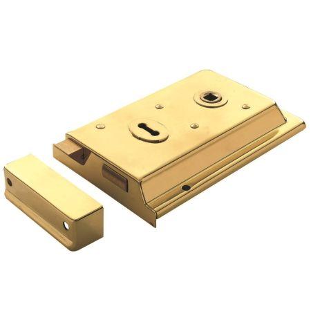 Eurospec Double Handed Rim Lock RSE8064